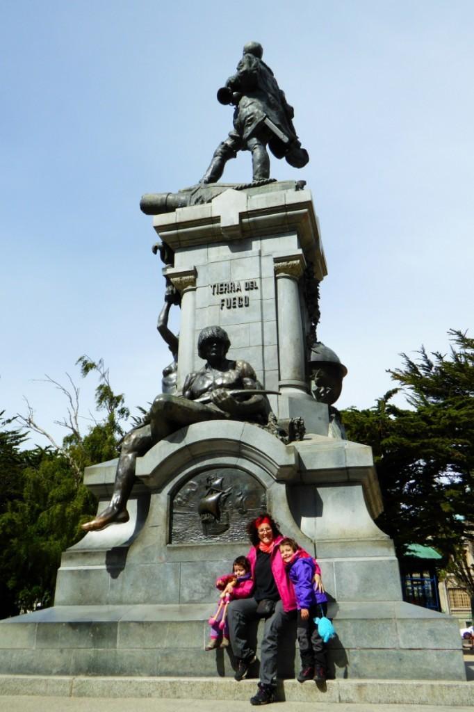 Monumento a Magallanes, también de princios del siglo XX