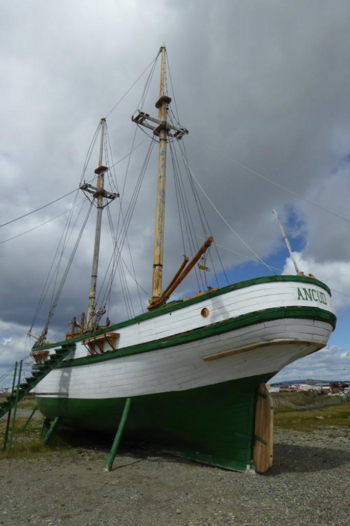 """La Goleta Ancud, o """"el meu barco"""" como dice Jana"""