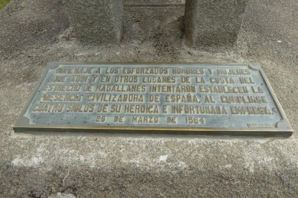 De Puerto del Hambre no queda nada, solo unas inscripciones