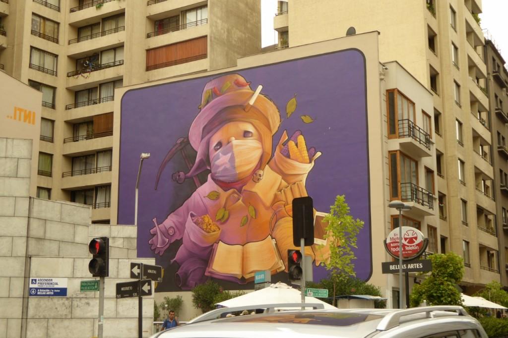 Increíbles murales dan color a las paredes ciegas de los edicifios