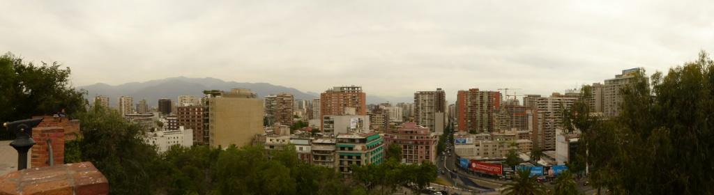 Vistas desde el cerro de Santa Lucía