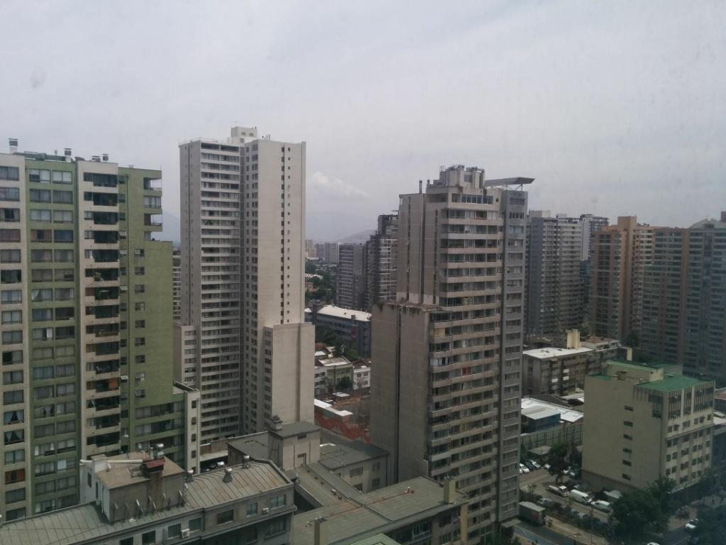 """Las """"magníficas"""" vistas desde el apartamento"""