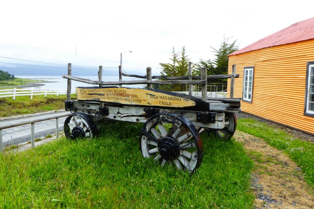 Un recuerdo de los primeros habitantes de Puerto Williams