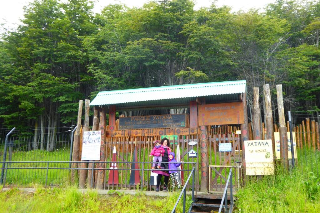 Solo pudimos ver la entrada al Parque Yatana :(