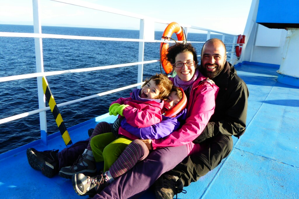 Hacia Chiloé disfrutando del viaje