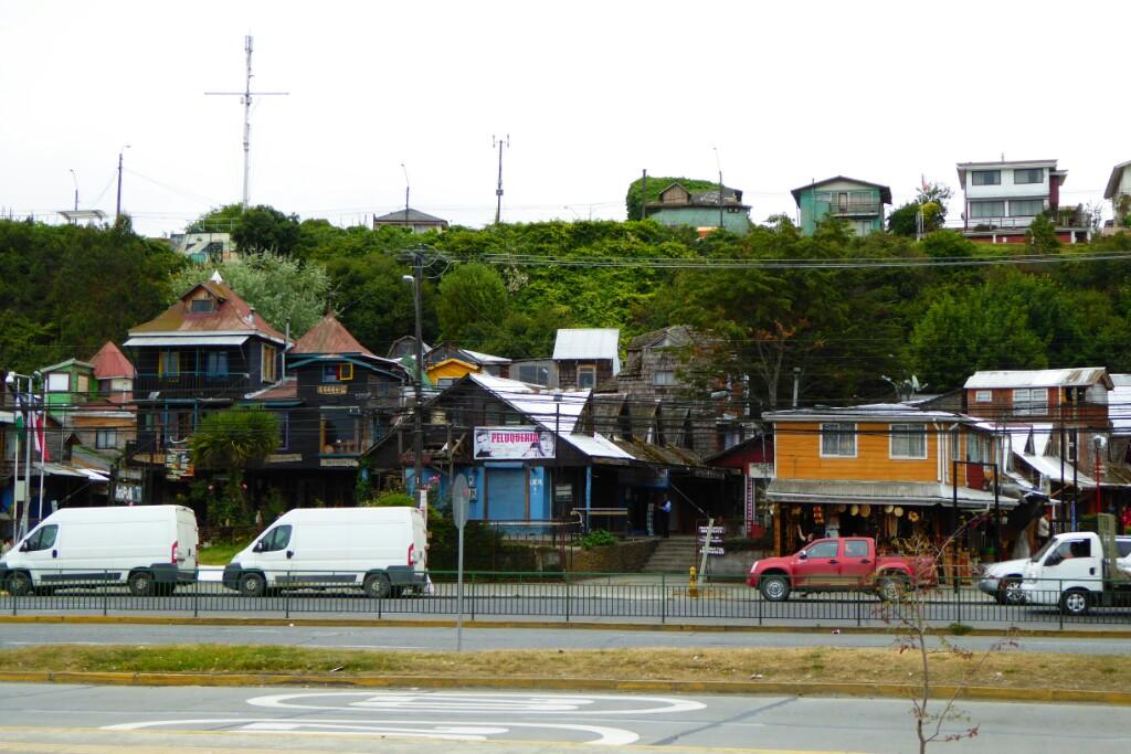 De Puerto Montt apenas pudimos ver los alrededores de la terminal de autobuses
