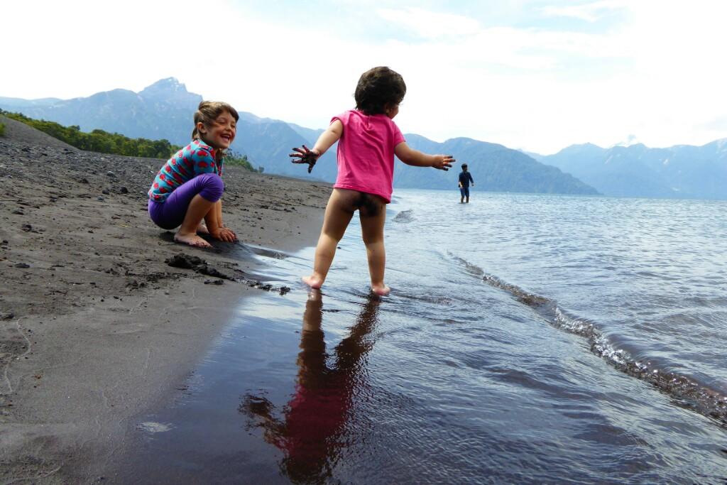 A Bruna hay pocas cosas que le gusten más que meterse en el agua