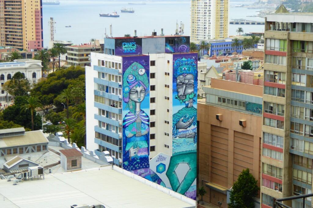 Nada está suficientemente alto en Valparaíso