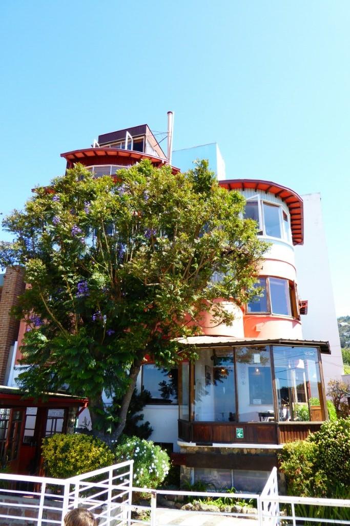 La Sebastiana, atalaya de Neruda sobre Valparaíso
