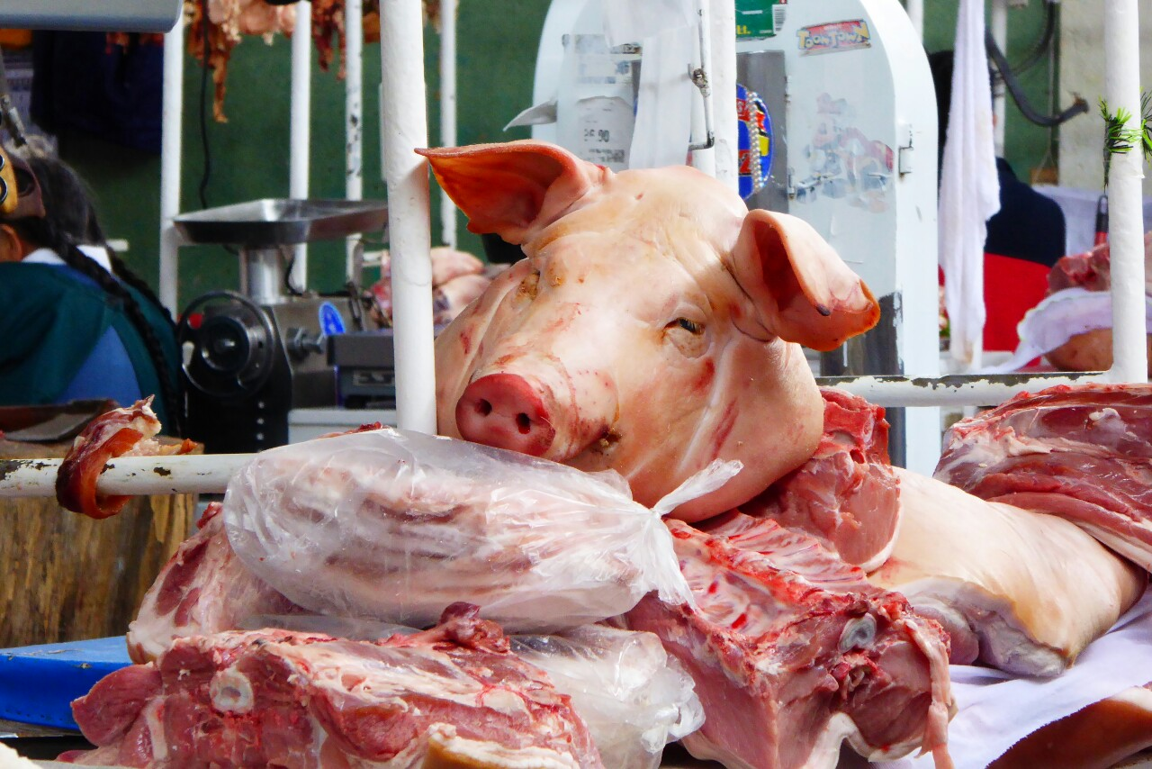 Ahora bien, hay que tener una confianza que aún no tenemos para comprar carne en el mercado