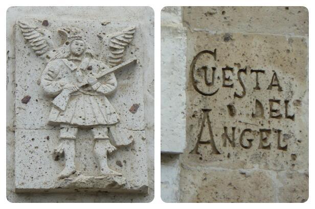 La cuesta del Angel lleva desde el Chili al mirador de Huynara