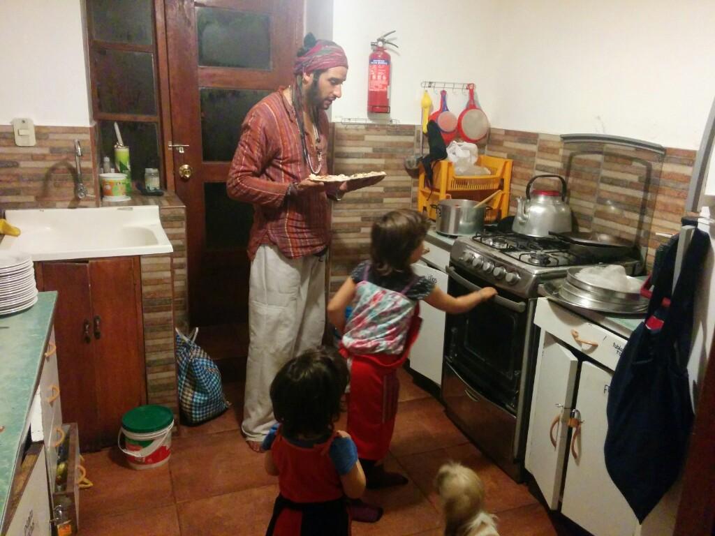 Energía, inspiración y amor. Yuri ha sido una de las personas clave en nuestro paso por Cusco