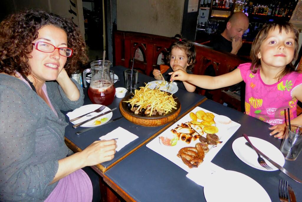 Cena de despedida de Chile, en Lastarria