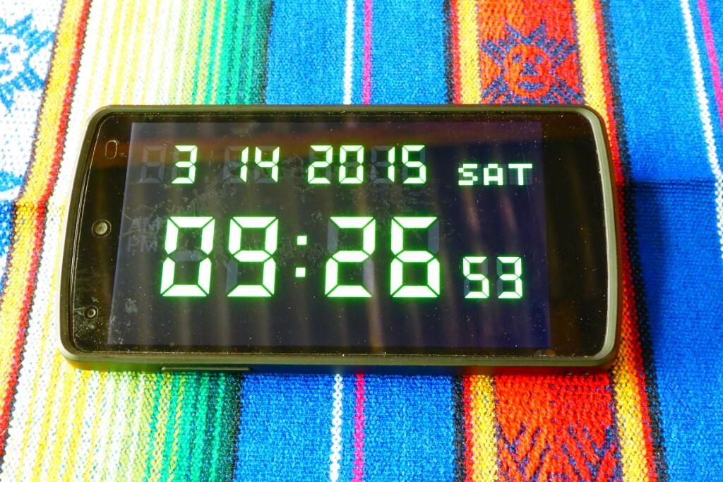 Para los geeks: ¿qué mejor lugar para celebrar el día PI del siglo que el ecuador?