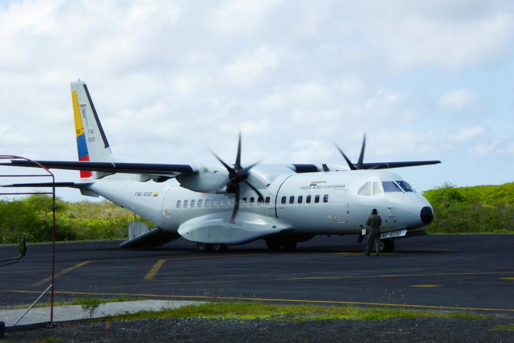 El avión militar que se los llevó a todos