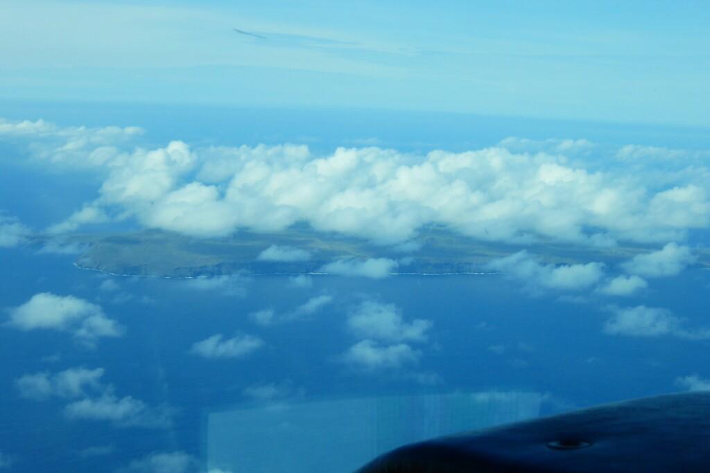 Santa Fe entre las nubes